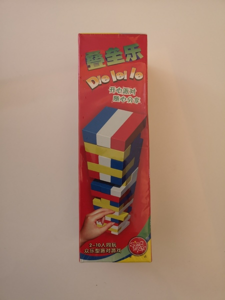 Used Kids Jenga toy. Brand new unopened. in Dubai, UAE