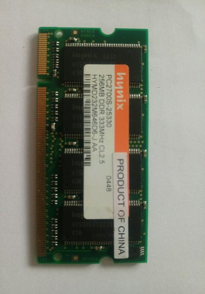 Used 256MB DDR ram in Dubai, UAE