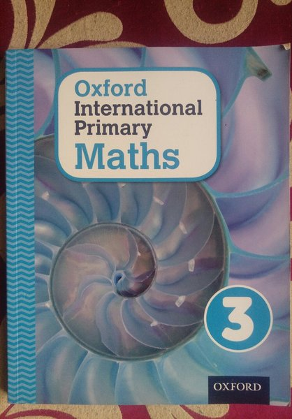 Used Maths book for grade 3 in Dubai, UAE