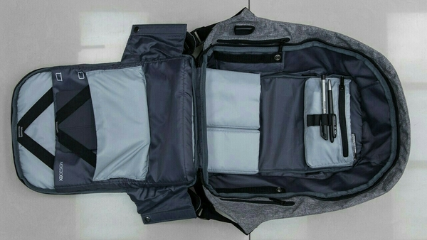 Used New Unused Smart Genius Bag Pack With Usb Charging/waterproof/10+compartment/fits Any Size Laptop in Dubai, UAE