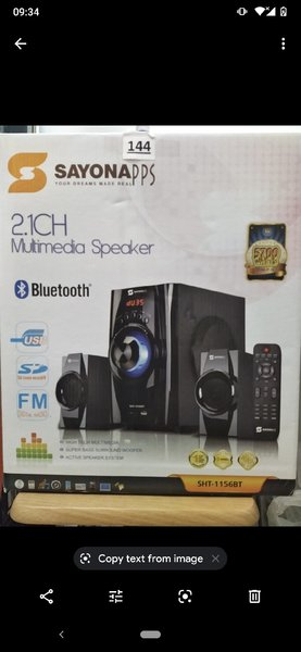 Used Brand New Sayona Multimedia Speaker in Dubai, UAE