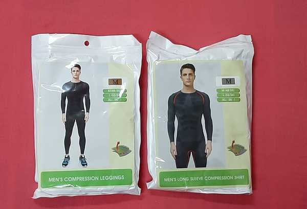 Used Men's dry fit athletic shirt and pant M in Dubai, UAE