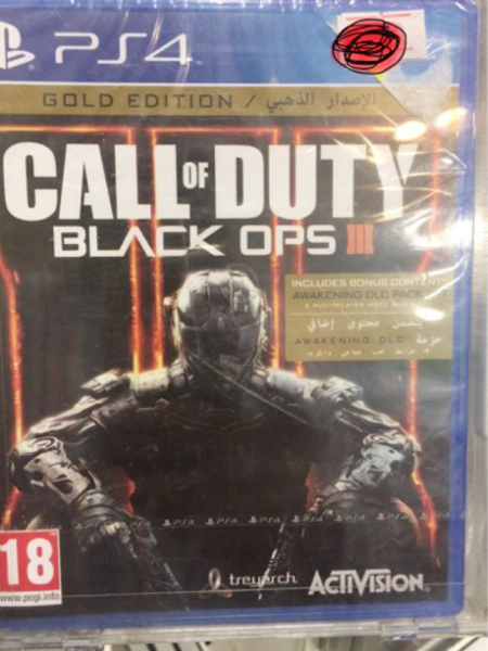 Used Call of Duty Black Ops3 Gold Edition PS4 in Dubai, UAE