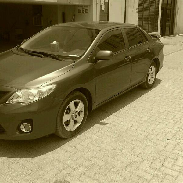 Used TOYOTA COROLLA GCC BRAND NEW CONDITION 2012 PASSING DONE  in Dubai, UAE