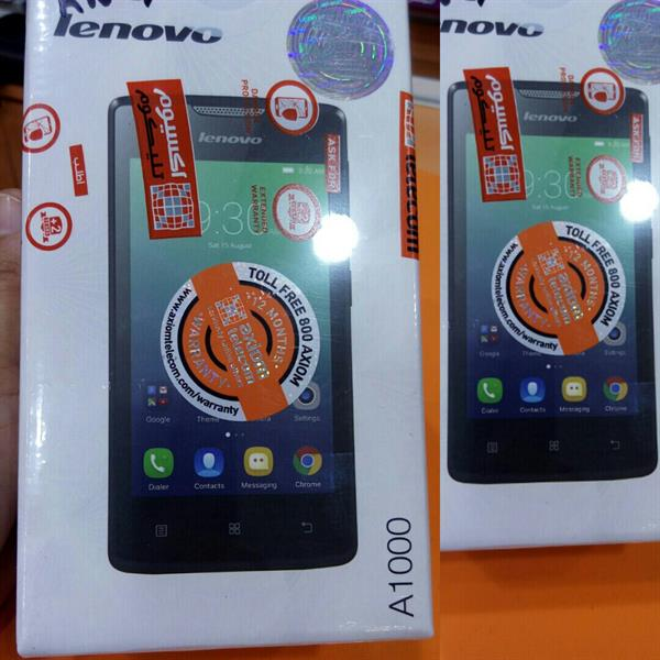 #LENOVO A100 #sealed Pack #absolutely NEW