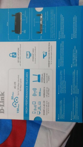 Used D-Link DWR -921 LTE Router Brand New  in Dubai, UAE