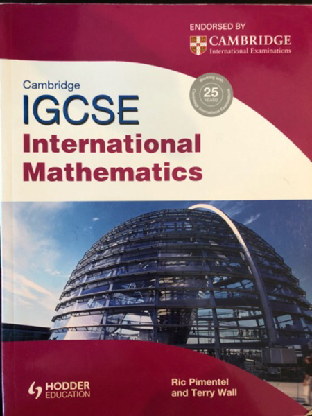 Used IGCSE Mathematics Textbook  in Dubai, UAE