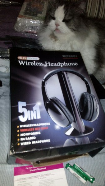 Used 5 in 1 headphone in Dubai, UAE