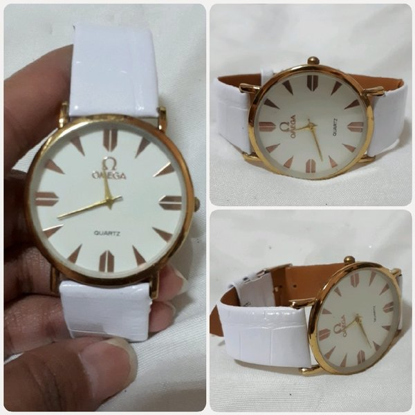 Used White OMEGA watch for Lady.. in Dubai, UAE