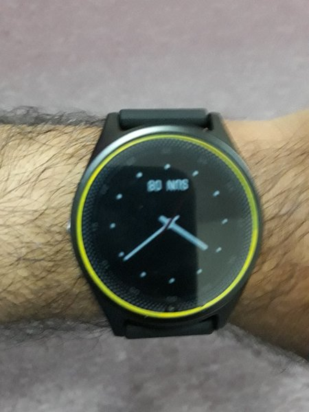 Used V9 BT Smart watch with SIM support in Dubai, UAE