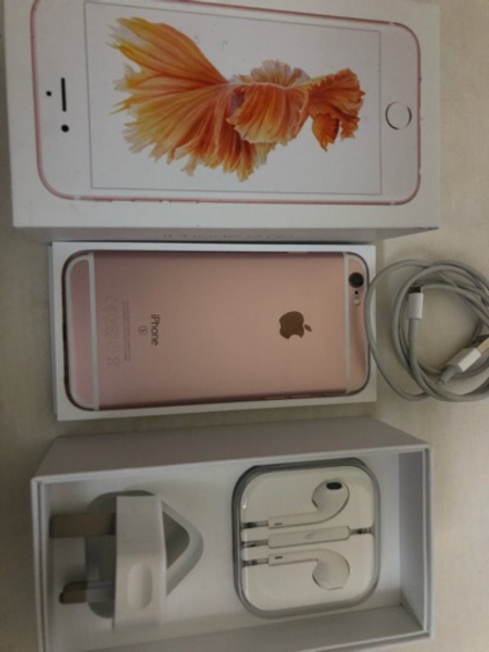 Used Original Apple Iphone6s Rosegold 64GB in Dubai, UAE
