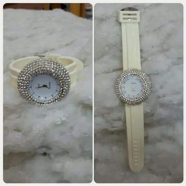Used Watch silver beige FASHIONISTA in Dubai, UAE