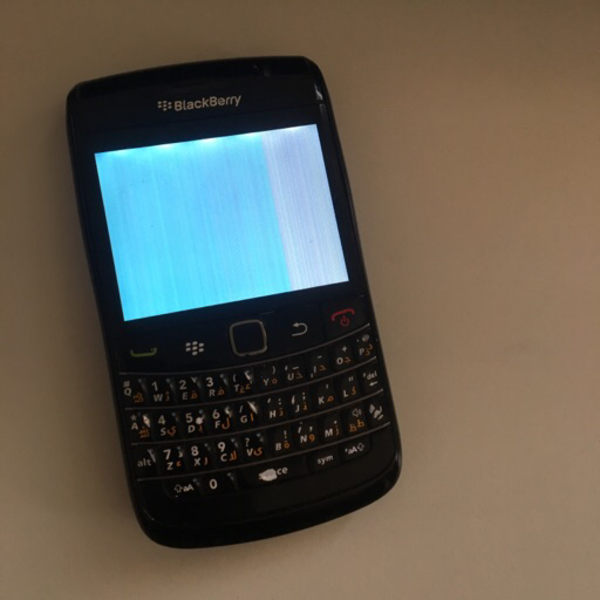 Used Blackberry 9780 bold *not working in Dubai, UAE