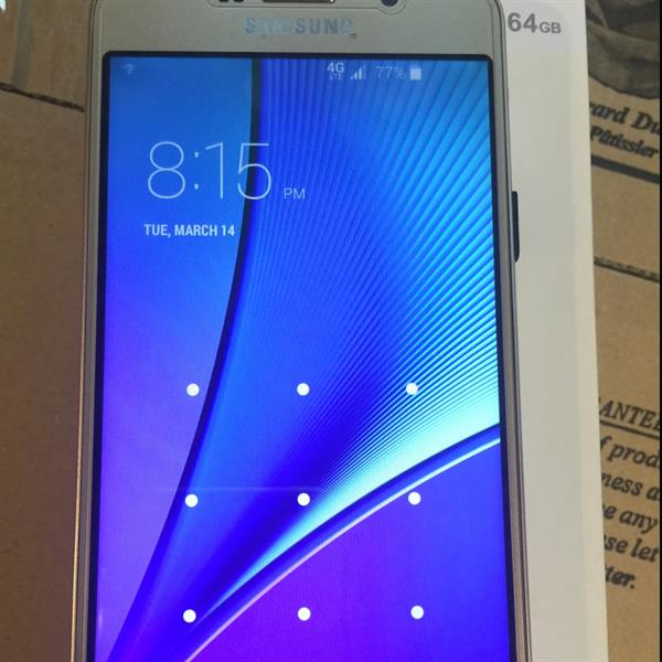 Used Galaxy Note 5 4g Gold 64gb First Copy Vietnam Its New 6 Month Varenty in Dubai, UAE