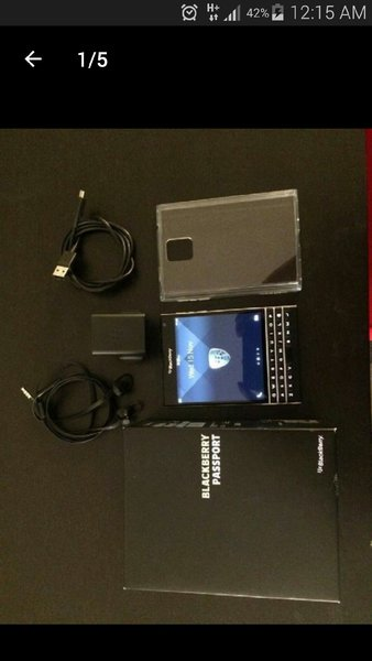 Used Blackberry Passport Smartmobile With Box in Dubai, UAE