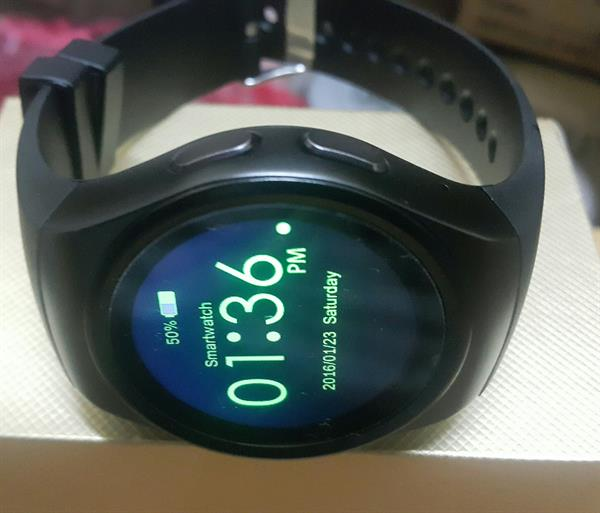 Used Smart watch Black Sim And Mommery Imi Or in Dubai, UAE