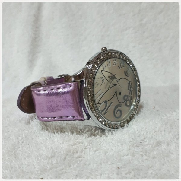 Used Cutie purple watch fashion for lady in Dubai, UAE
