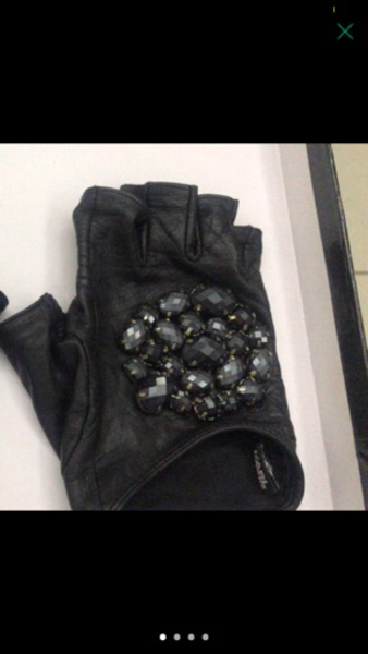 Used Karl Lagerfeld Leather Gloves  in Dubai, UAE