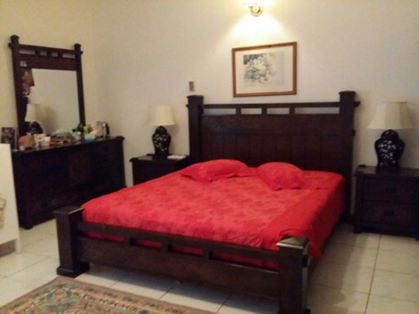 Used Solid wooden Bedroom set  in Dubai, UAE