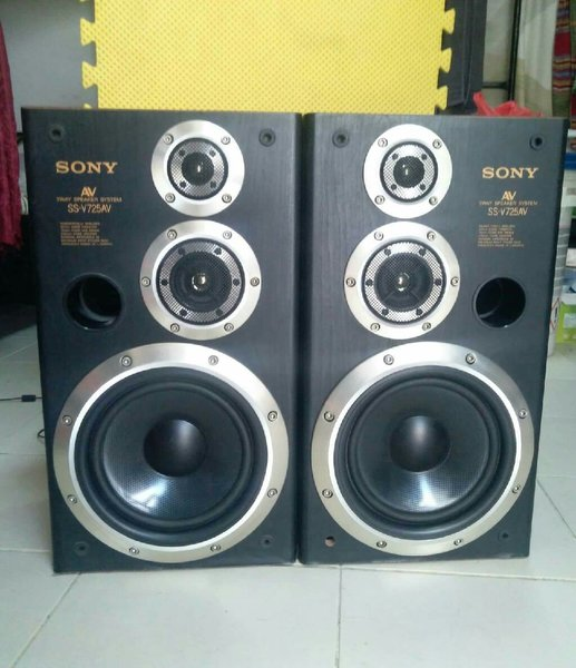 Used Sony speaker system full set (original) in Dubai, UAE