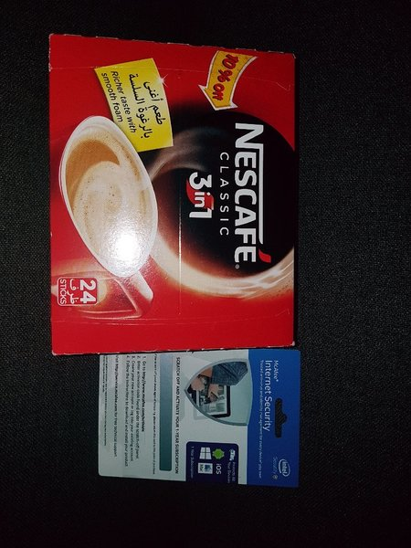 Used Nescafe3 in Classic+McAfee IntNetSecurty in Dubai, UAE