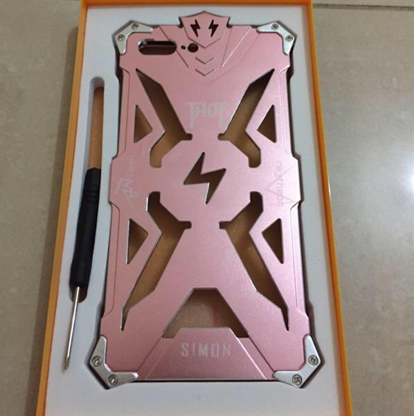 Used Stock Clearance! - iPhone 7 Pink Case - Original Thor Case in Dubai, UAE