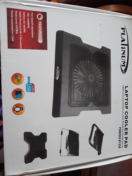 Used Platinum laptop cooler pad in Dubai, UAE