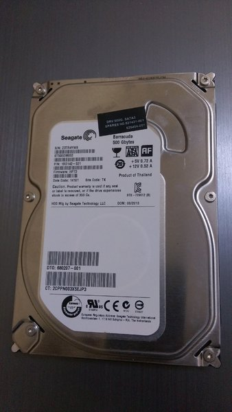 Used seagate 500gb desktop hdd in Dubai, UAE