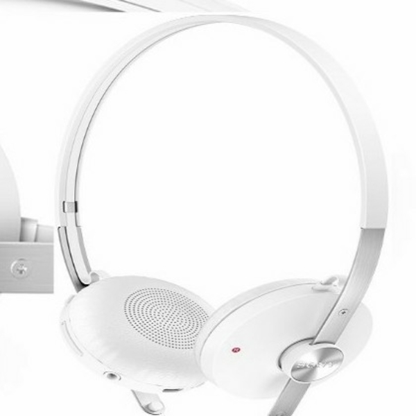 Used Sony Stereo Bluetooth Over The Ear Headset (White) in Dubai, UAE