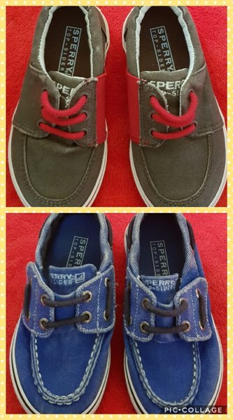 Used Sperry shoes size 26 for kids in Dubai, UAE