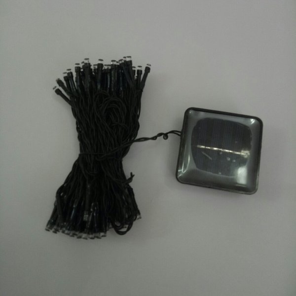 Used 200 LEDs 22m solar light,warm white in Dubai, UAE