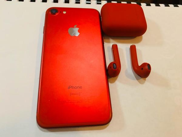 Used I phone 7 plus Ear pods Only at 250 only in Dubai, UAE