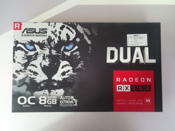 Used ASUS RX580-8GB(dual fan) for sale in Dubai, UAE