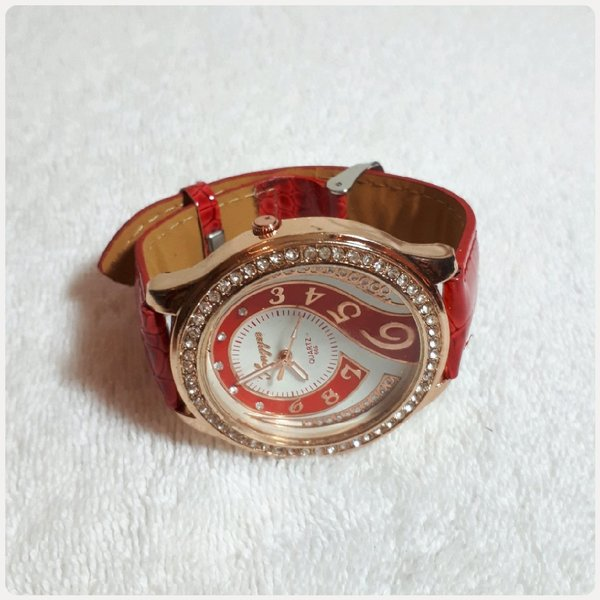 Used Piostephany Red watch fashion for lady in Dubai, UAE