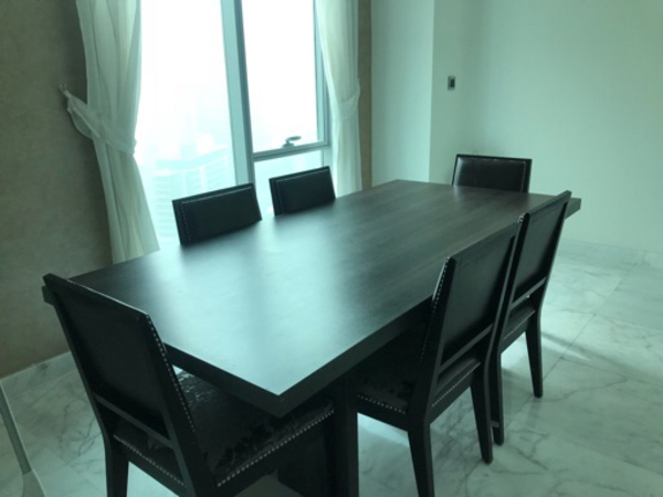 Used Dining Table for 6 from The One in Dubai, UAE