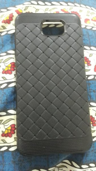 Used J5 Prime leather Cover in Dubai, UAE