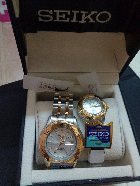 Used Seiko Couple Watch - New in Dubai, UAE