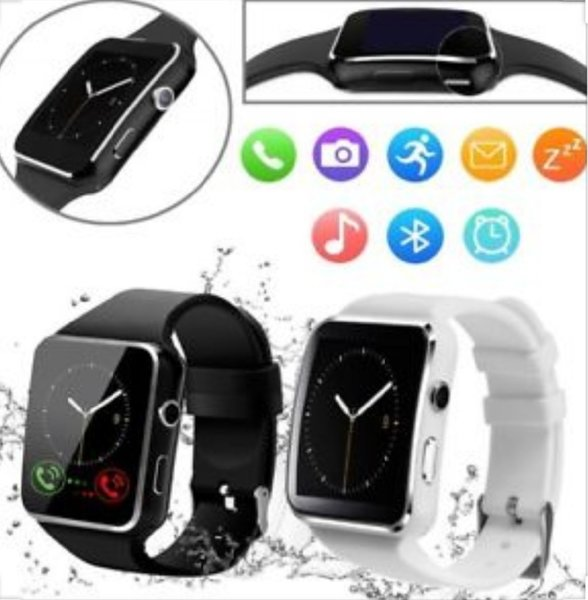 Used X6 Smart Watch Black with Side Camera in Dubai, UAE