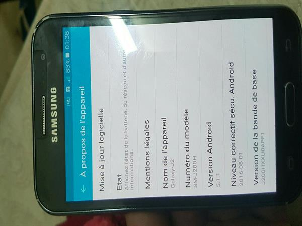 Samsung J2 Black With Accesories