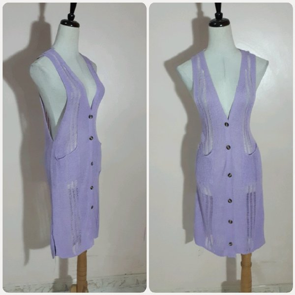 Used Purple long top. in Dubai, UAE