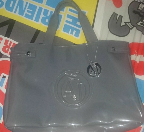 Used #armanijeansbag#authentic#usedfewtimes#excellentcondition#withdustbag in Dubai, UAE
