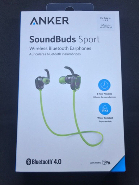 Used New Anker soundbud sport,18mnth warranty in Dubai, UAE