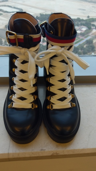 Used Gucci leather ankleboots#repost#impacter in Dubai, UAE