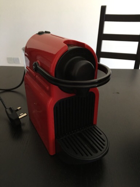 Used Nespresso Inissia Coffee Machine.  in Dubai, UAE