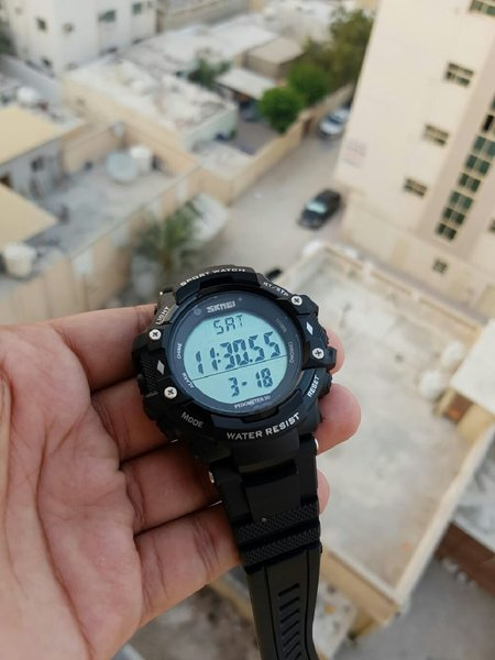 Used Firness Sports Watch-Count Steps/Caories in Dubai, UAE