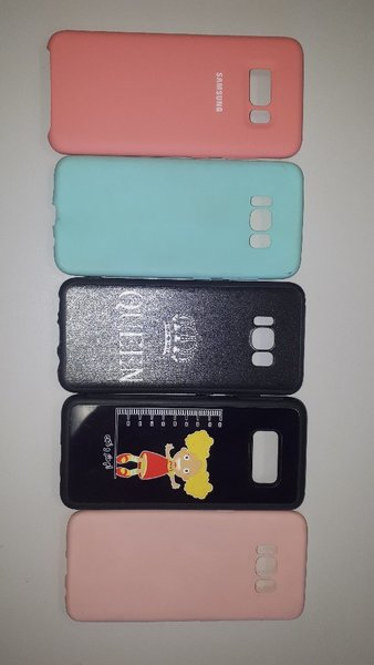 Used Bundle  cover for Samsung Galaxy S8, s8+ in Dubai, UAE