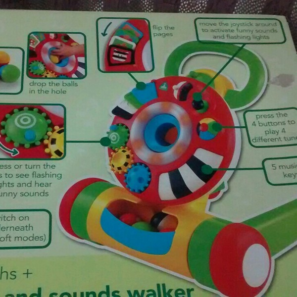 Used ELC Light And Sound Activity And Walker New Brand in Dubai, UAE