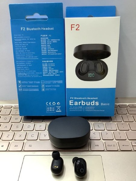 Used F2 TWS Stereo Wireless Headphones Mini S in Dubai, UAE