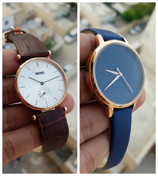 Used ¤Bundle Offer¤ Genuine Leather Watches in Dubai, UAE