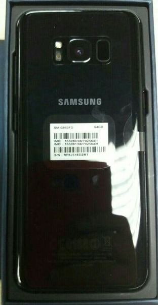 Used Selling Brand New Samsung S8 Dual Sim (Gold) With All The Accessories And Box In A Very Good Price in Dubai, UAE